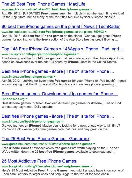 Best Free Iphone Games Bing