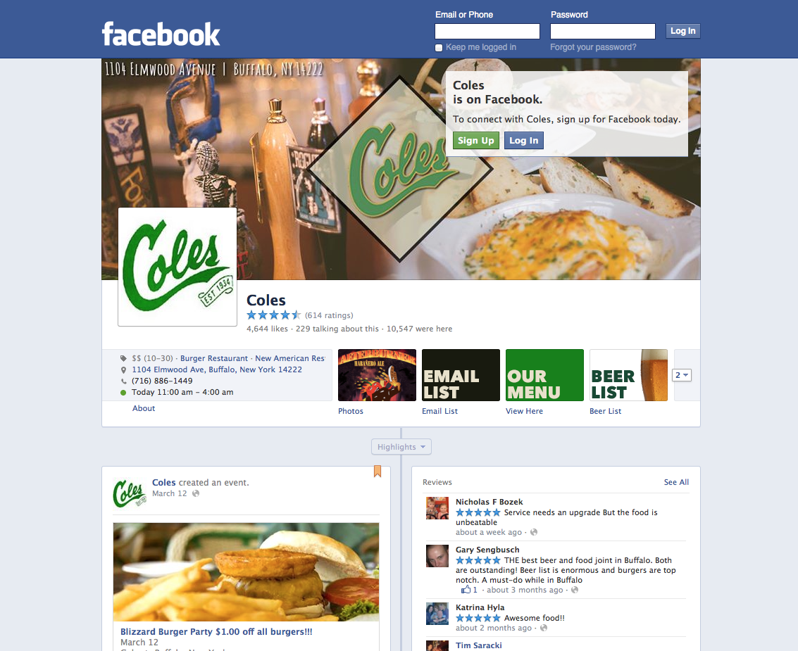 New Design & Layout for Facebook Business Pages » TMG Blog