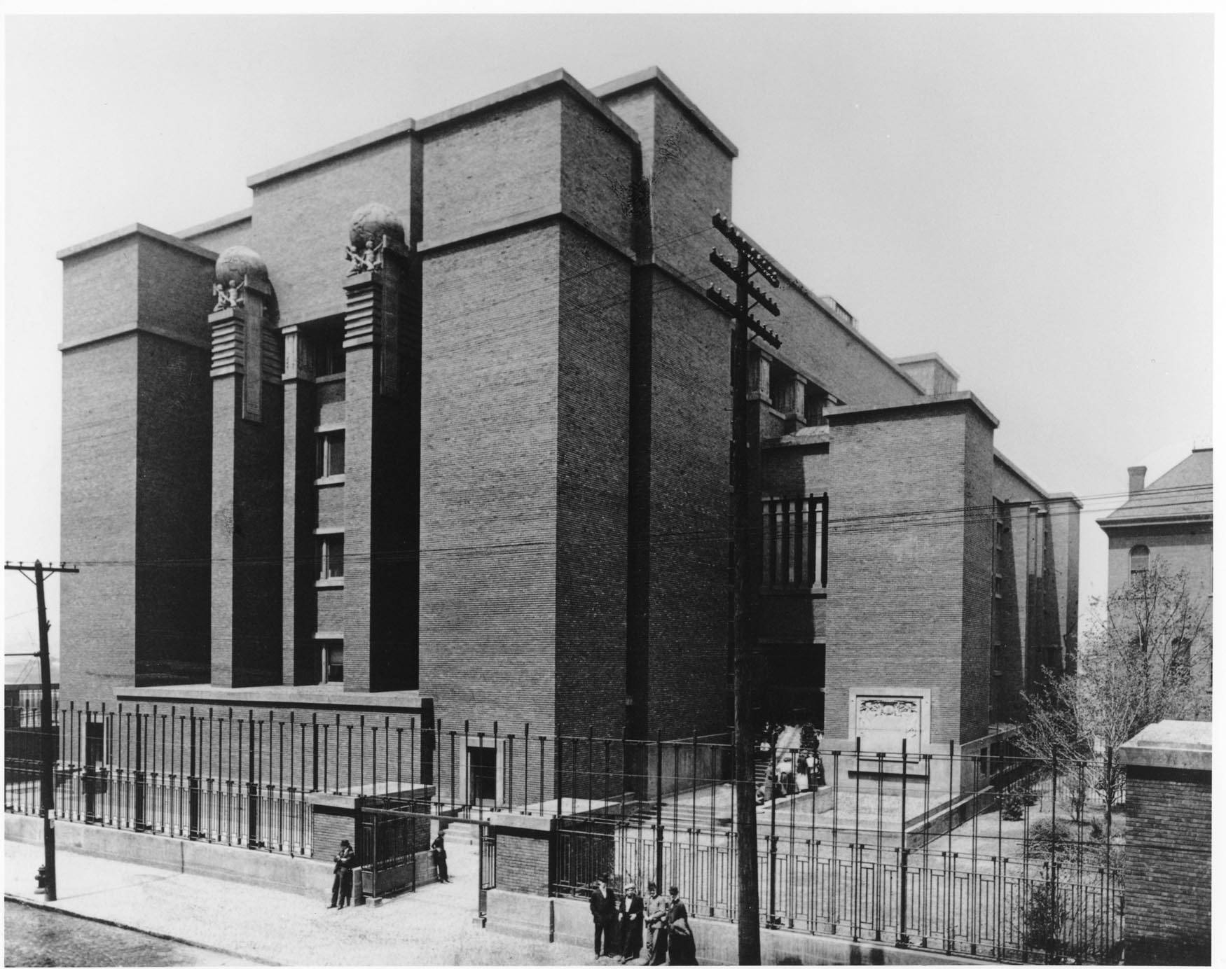 Larkin Building Frank Lloyd Wright Innovation » TMG ...