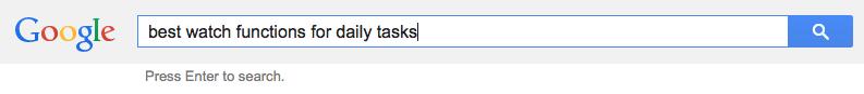 Whoa - a Google screenshot!