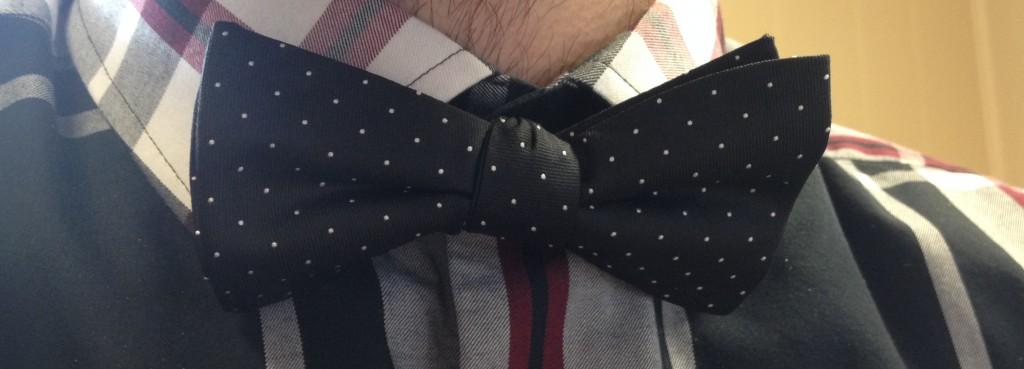 Polka Dot Bow Tie #FashionFridays