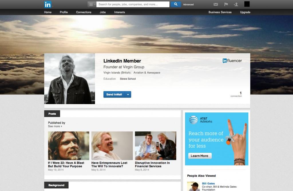 Richard B LinkedIn Profile