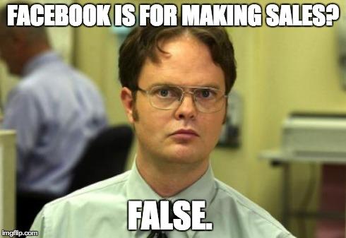 Do you use Facebook as a sales tool?